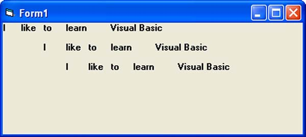 Visual Basic Format Function