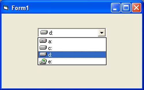 list box en visual basic: