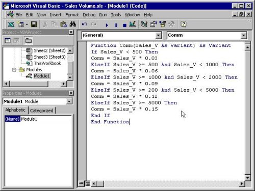 Visual Basic lesson 15: Creating VBA Functions For MS Excel