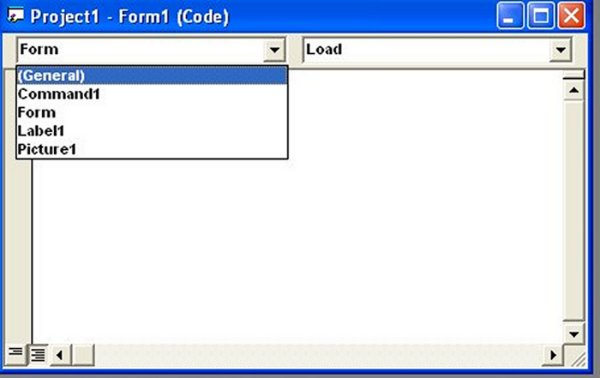 List of visual basic 6 objects