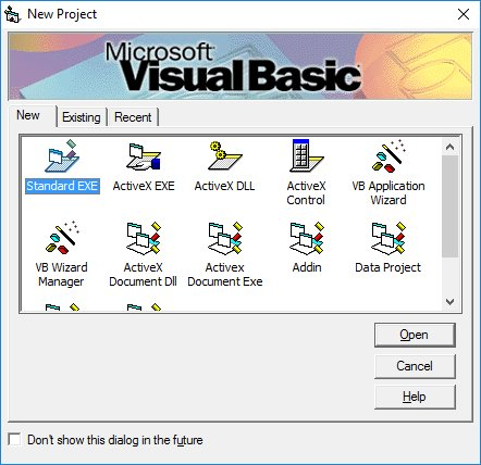 visual basic programming 6 0 Why visual basic h programming for the windows user  – as in c, 0 = false, everything else = true – symbolic constants true and false may be used.