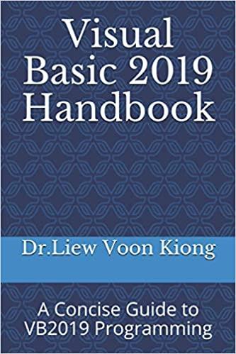 VB2019 Handbook