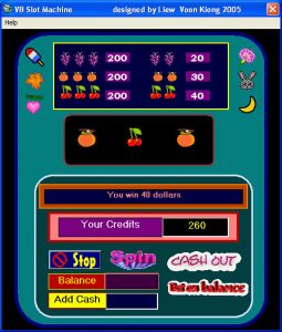 vb6 slot machine