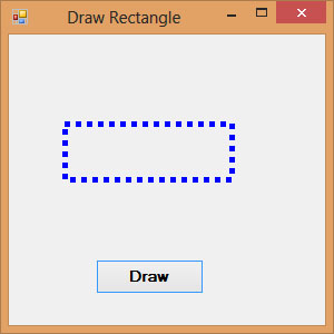 Drawing Rectangles In Visual Basic 2017