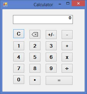 Designing a calculator in visual basic 2013 part 1 visual basic.